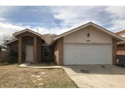 3 Bed 2 Bath Foreclosure Property in El Paso, TX 79934 - Colin Powell Ave