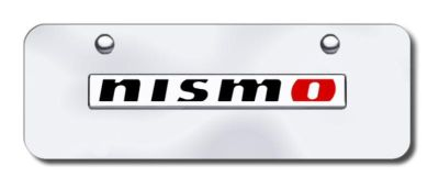 Sell Nissan NISMO Non-reverse Name Chr/Chr/Mini License Plate (Red 'O') Made in USA motorcycle in San Tan Valley, Arizona, US, for US $29.87