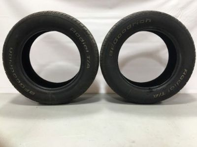 Sell Two BF Goodrich Radial T/A Tires P205/60 R16 motorcycle in Sherman, Texas, United States, for US $50.00