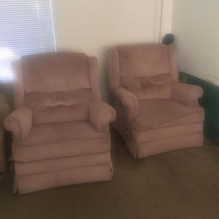 Two FREE Recliners.