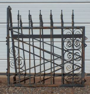 DECORATIVE WROUGHT IRON WORK