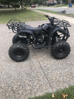 4wheeler with ramps