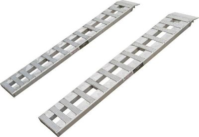 Buy HEAVY DUTY ALUMINUM CAR-AUTO TRAILER RAMPS-HOOK & PLATE (02-12-072-046-S) motorcycle in West Bend, Wisconsin, US, for US $244.99