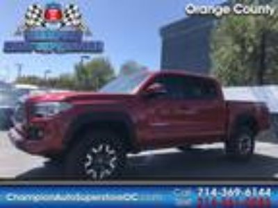 Used 2019 Toyota Tacoma 4WD Red, 2.7K miles