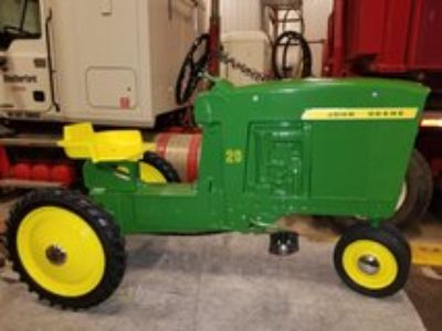 WANTED: Old cast pedal tractors and metal trailers
