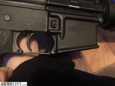 For Sale: Colt Ar15 A3 Tactical Carbine with Restricted Sign