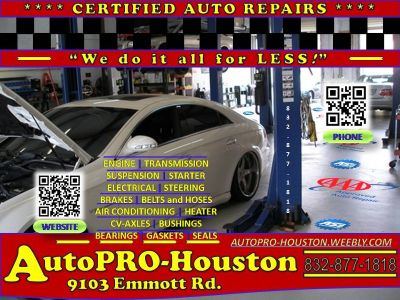 Transmission | Engine | Brake | Suspension | Steering | Electrical Diagnostic | Repairs