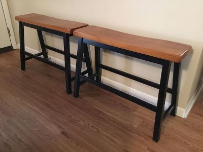 New(2) Bar/Counter/Kitchen Island benches