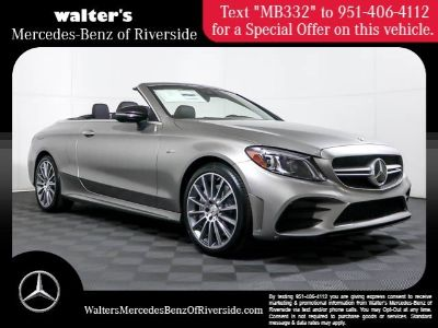 2019 Mercedes-Benz C-Class AMG C 43 (Mojave Silver M)