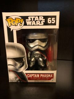 Funko POP! Star Wars The Force Awakens Captain Phasma Action Figure #65