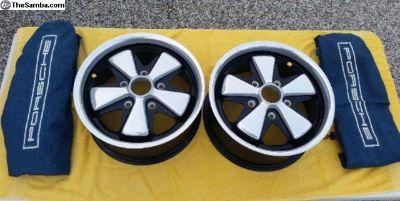 Set of Porsche 911R Fuchs Wheels 7x15-used