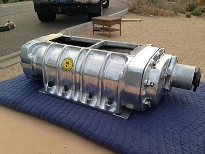 Polished Littlefield HH 14-71 Blower