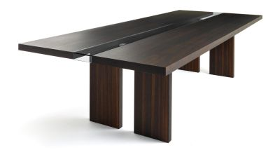 Italian Dining table with 8 matching chairs