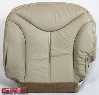 Sell 00-02 GMC Yukon SLT Driver Side Bottom Replacement LEATHER Seat Cushion Cover motorcycle in Houston, Texas, US, for US $195.00