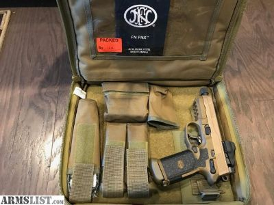 For Sale: FN FNX-45 Tactical with Vortex Viper Red Dot
