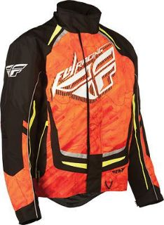Buy FLY Racing SNX Pro Snowmobile Jacket Orange motorcycle in Holland, Michigan, United States, for US $197.96