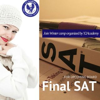 SAT winter program arranged by Y2Academy for upcoming board final SAT/ACT