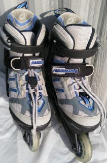 Roller blades (Inline Skates) - Barely Used Extendable Sz 2-12