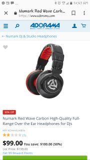Awesome numark headphones