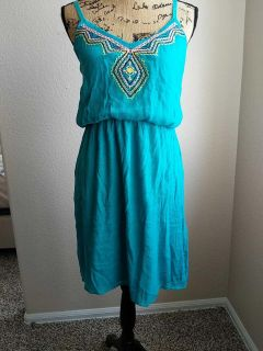 Cute layered dress Maurices Large EUC