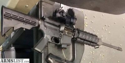 For Sale: 9mm AR15 (w/ Red Dot Sight, Rail, MOE Stock, 3 Mags, and Soft Case)