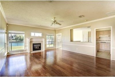 Beautiful lakefront home in a peaceful and gated subdivision.
