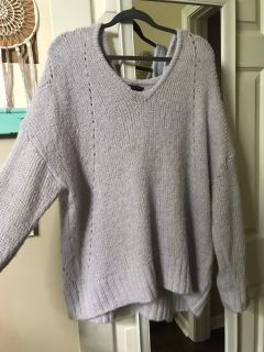American eagle oversized sweater with hood