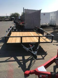 "2019 MAXXD TRAILERS 12' X 83"" SA UTILITY TRAILER Equipment Trailer Trailers Elk Grove, CA"