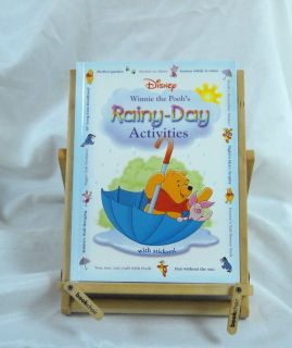 Disney Winnie The Poohs Rainy Day Activities Hard Cover Book Age 4 - 7 Games & Activities