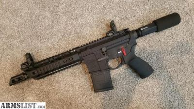 For Sale: AR15 pistol upper