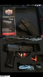 For Sale: Sig SP2022 9mm