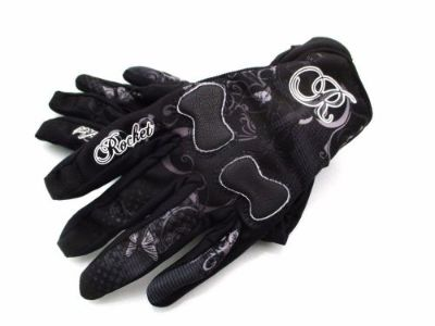 Sell Joe Rocket LADIES ROCKET NATION Motorcycle Gloves BLACK/GRAY motorcycle in Redford, Michigan, United States, for US $25.00