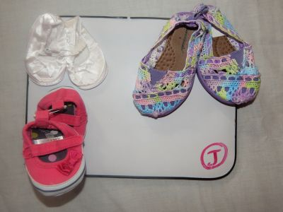 Shoes .75 each See desc for size & Prices