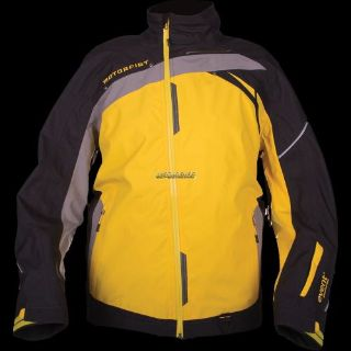 Sell Motorfist Mens Trophy Jacket - Black/Yellow/Gray motorcycle in Sauk Centre, Minnesota, United States, for US $349.99