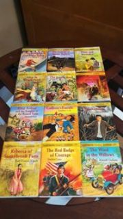 illustrated classic editions book lot