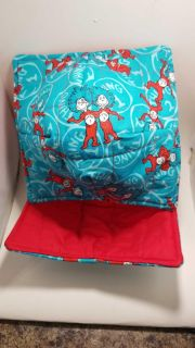 Thing 1 & Thing 2 microwavable bowl cozies