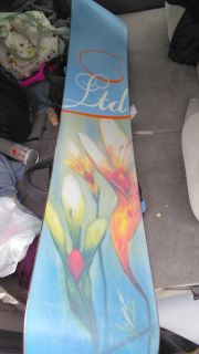 *Need gone now price reduced*3Snowboard with bindings and leash. Stomp pad on board