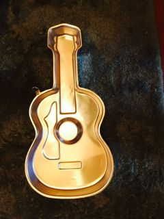 Guitar Cake Pan by Shapely Cakes Wilton