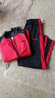 AND1 athletic jacket and pants, new