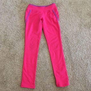 Pink athletic pants- girls 5/6