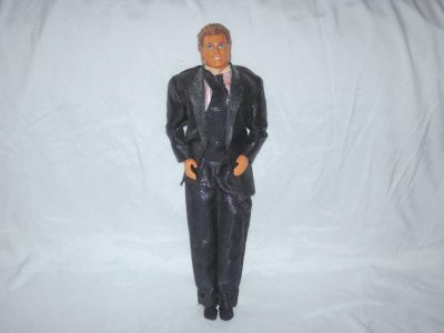 VINTAGE 1968 BARBIE KEN DOLL WITH OUTFIT
