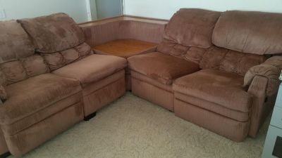 Love seat/Sofa 3 piece Sectional / Recliner