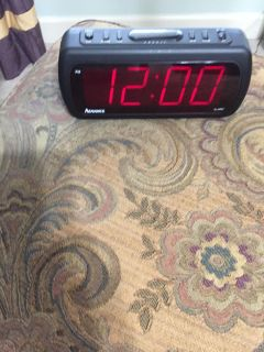 Digital Clock with Alarm and Snooze Festure
