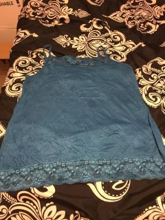 Maurice s size 2. Has stain. Great under tank. Pick up at McCalla Target Thursdays from 5:15 till 6