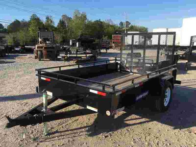 2018 Sure-Trac 5 x 8 Steel High Side Utility Trailer