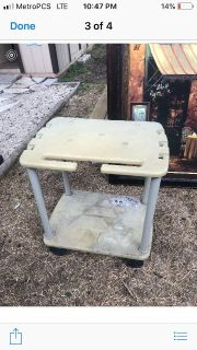 Utility cart works great just dirty from being in shed