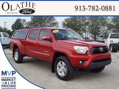 2013 Toyota Tacoma V6 (Barcelona Red Metallic)