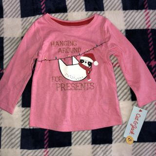 Nwt cat and jack sloth tee 12M