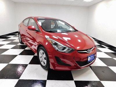 2016 Hyundai Elantra GLS (Scarlet Red Pearl)