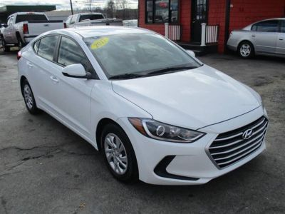 2017 Hyundai Elantra SE 4dr Sedan 6A (US) (White)
